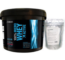 Self Micro Whey Active 4 kg + Glutamin 500g