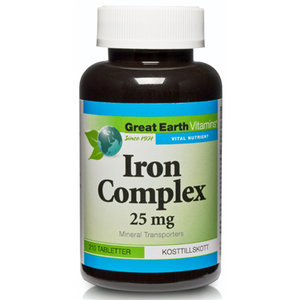 Great Earth Iron Complex 210 tab