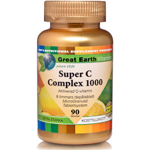Great Earth Super C-COMPLEX 1000 Extra Stark 90tab