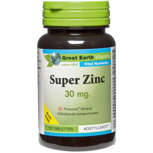 Great Eart Super Zinc 100 tab