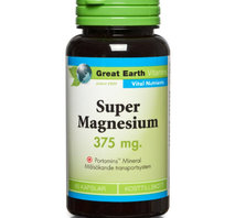 Great Earth Super Magnesium 375mg 100 tab