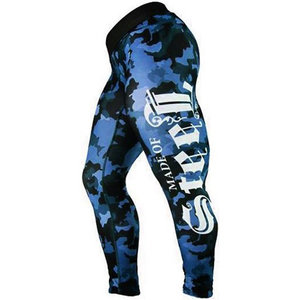 Made Of Steel Street Camo Tights